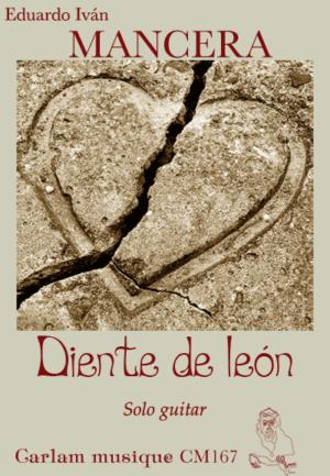 Diente de leon solo guitar cover