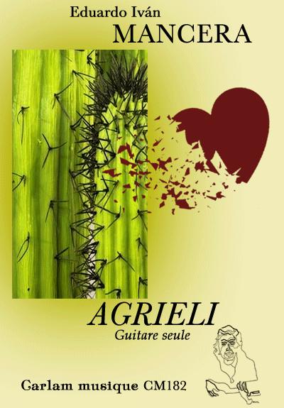 Agrieli guitare seule couverture