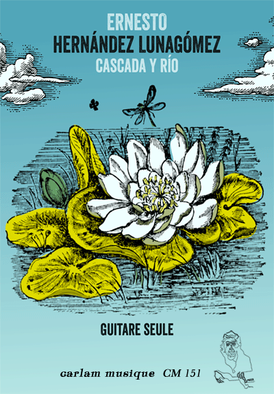 cascada y rio guitare seule couverture