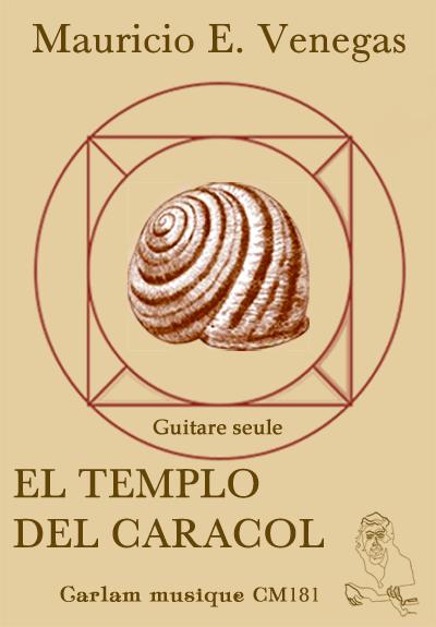 El templo del caracol guitare seule couverture