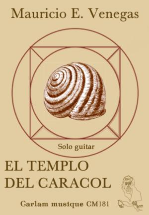 El templo del caracol solo guitar cover