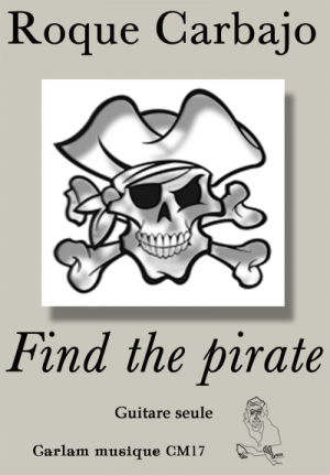 Find the pirate guitare seule couverture