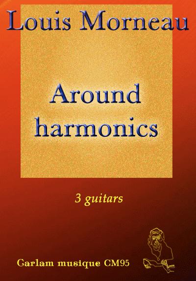 Around harmonics 3 guitars cover