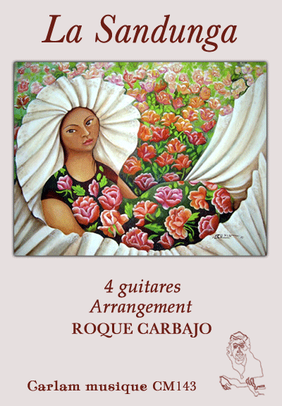 la sandunga 4 guitares couverture