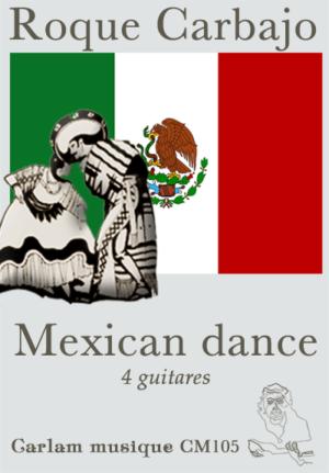 Mexican dance 4 guitares couverture