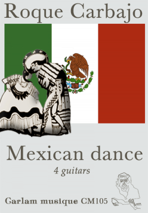 Mexican dance 4 guitars cover