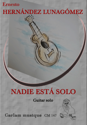 Nadie esta solo solo guitar cover