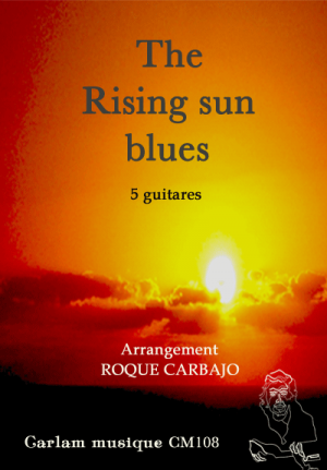 the rising sun blues 5 guitares couverture