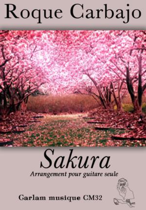 Sakura guitare seule couverture