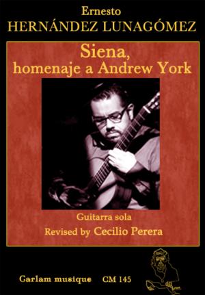 siena homenaje a andrew york guitarra sola portada