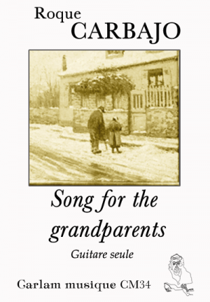 song for the grandparents guitare seule couverture