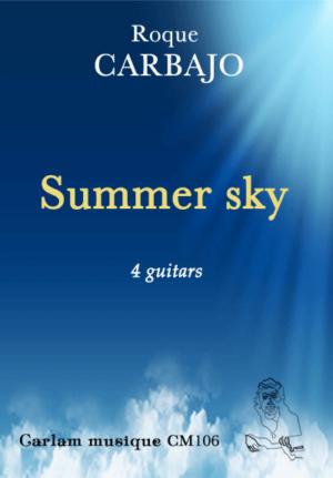 Summer sky 4 guitars cover