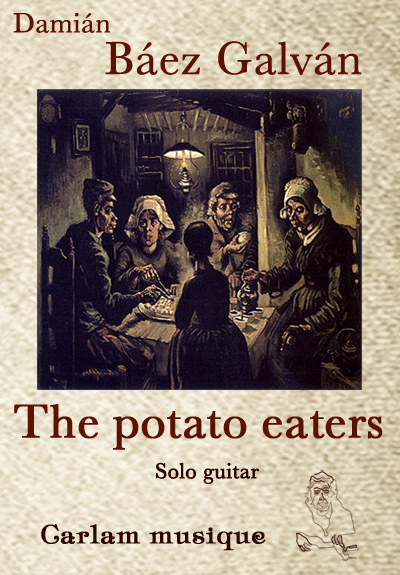 The potato eaters solo guitar cover
