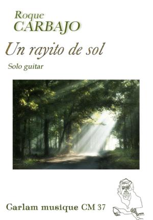 Un rayito de sol solo guitar cover