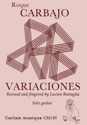 variaciones solo guitar version lucien battaglia cover