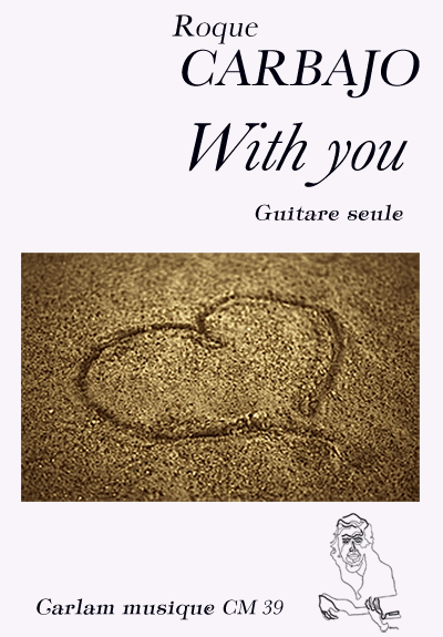 With you guitare seule couverture