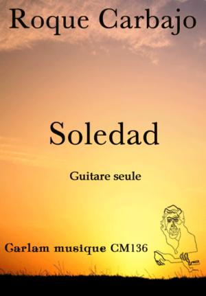 Soledad guitare seule couverture