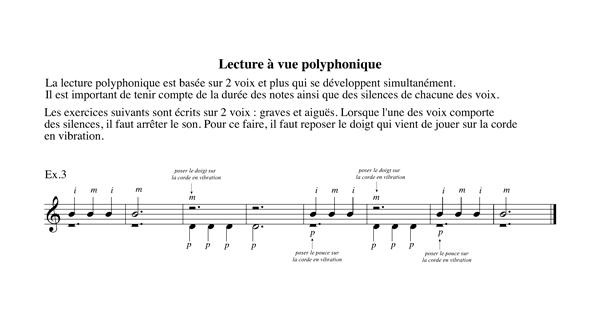 Cahier Niveau 1 Chapitre 4 Lecture à vue polyphonique