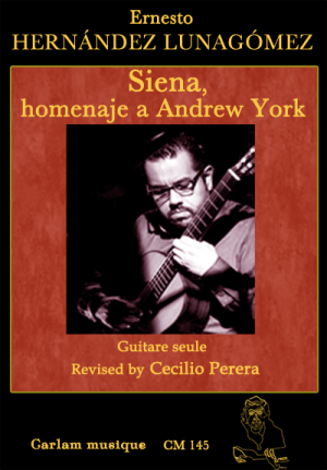 siena homenaje a andrew york guitare seule couverture