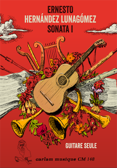 Sonata 1 guitare seule couverture
