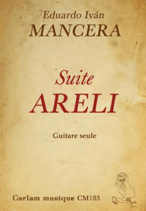 Suite Areli guitare seule couverture