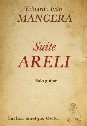 Suite Areli solo guitar cover