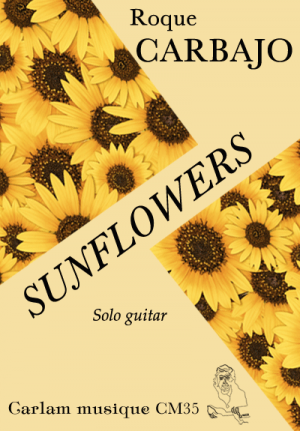 Sunflowers solo guitar cover
