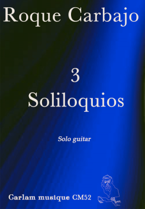 3 soliloquios solo guitar cover