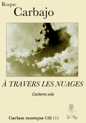 À travers les nuages guitarra sola portada