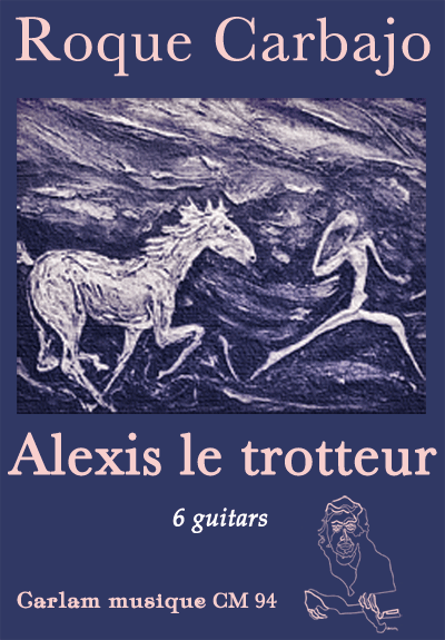 Alexis le trotteur 6 guitars cover