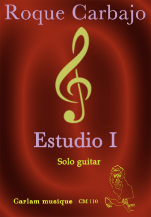 Estudio 1 solo guitar cover