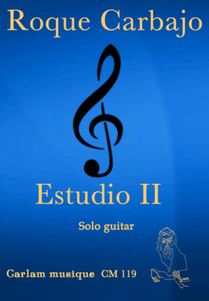 estudio 2 solo guitar cover