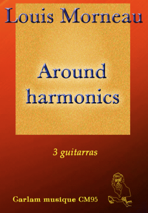 around harmonics 3 guitarras portada
