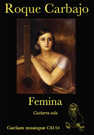 femina notación musical guitarra sola portada