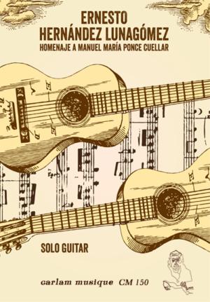 homenaje a manuel maria ponce cuellar solo guitar cover