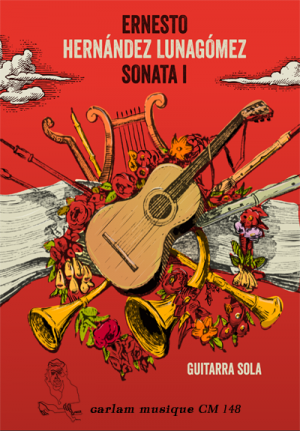 Sonata 1 guitarra sola portada