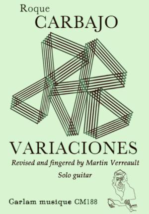 Variaciones solo guitar version Martin Verreault cover